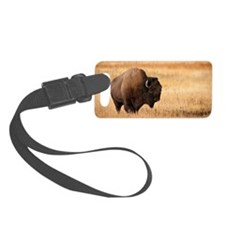 Bison (9) Luggage Tag