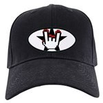 RRC Horns Black Cap