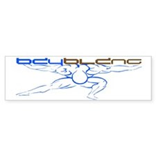 Atlas Bodybuilding Sticker (blue)