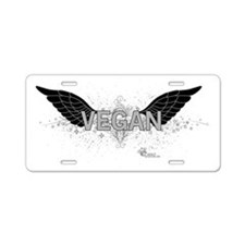 vegan-06 Aluminum License Plate