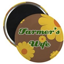 "Farmer's Wife 2.25"" Magnet (100 pack)"