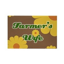 Farmer's Wife Rectangle Magnet (100 pack)