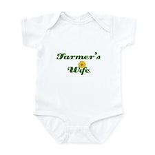 Farmer's Wife Infant Bodysuit