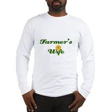 Farmer's Wife Long Sleeve T-Shirt