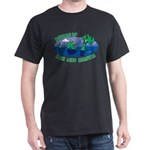 Beware Of Loch Ness Monster Dark T-Shirt