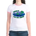 Beware Of Loch Ness Monster Jr. Ringer T-Shirt