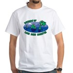 Beware Of Loch Ness Monster White T-Shirt