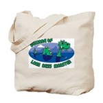 Beware Of Loch Ness Monster Tote Bag
