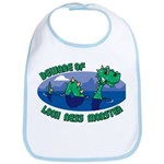 Beware Of Loch Ness Monster Bib