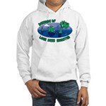 Beware Of Loch Ness Monster Hooded Sweatshirt