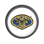 Upland Fire  Wall Clock
