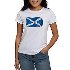 Wavy Scotland Flag Tee