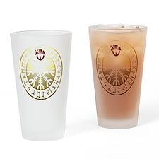 aegishjalmur rune shield PNG Drinking Glass