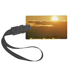 HAppy NY SUnrise Luggage Tag