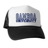 GAMBOA University Trucker Hat