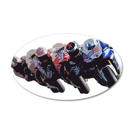 moto Wall Decal
