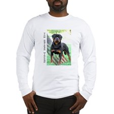Cool American rottweiler Long Sleeve T-Shirt