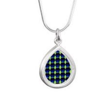 Sounder Kindle Sleeve Silver Teardrop Necklace