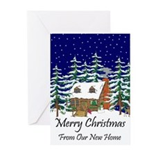 Funny New home christmas Greeting Cards (Pk of 20)