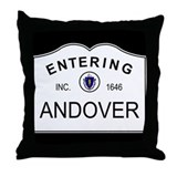 Cute City limit Throw Pillow