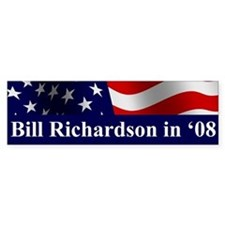 Richardson Bumper Car Sticker