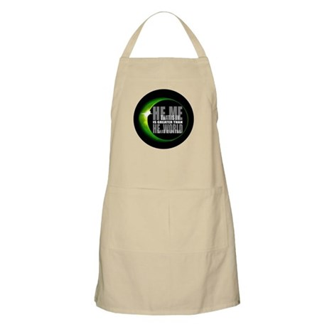 He is Greater BBQ Apron
