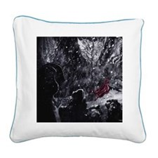 Little Red Riding Hood 1 Square Canvas Pillow