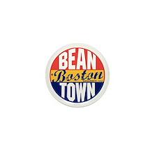 Boston Vintage Label B Mini Button