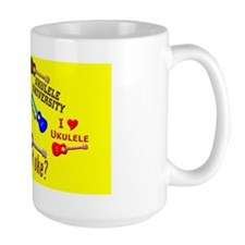 ukulele sticker uke stickers Mug