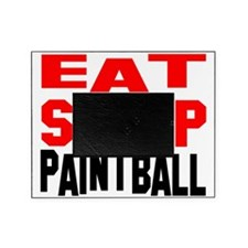 eat sleep Paintball Picture Frame