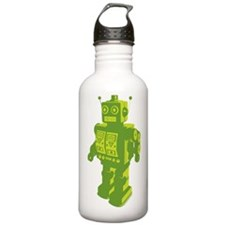 Robot Lime Water Bottle