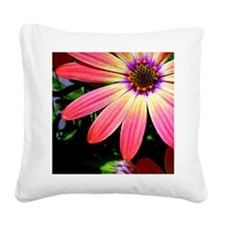 orange_daisy Square Canvas Pillow