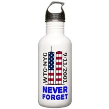 never-forget-yardsign Water Bottle