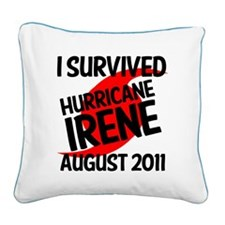 HURRICANEIRENE1 Square Canvas Pillow
