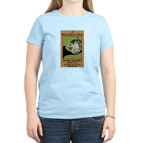 French Horn of Doom Women's Light T-Shirt