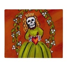 muerta_12-5x13-5h Throw Blanket