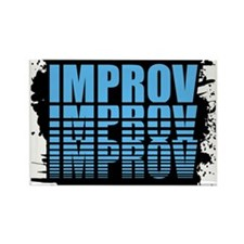 ImprovLOGO.gif Rectangle Magnet