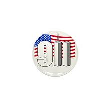 911 -dk Mini Button