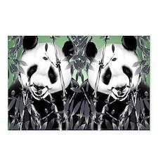 panda_flip_flops Postcards (Package of 8)