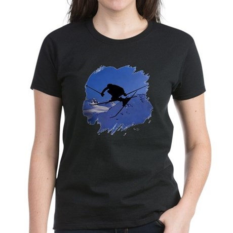 Ski Women's Dark T-Shirt