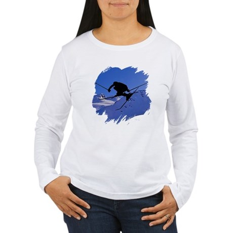 Ski Women's Long Sleeve T-Shirt