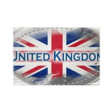 United Kingdom Rectangle Magnet