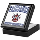 FAIRBANKS University Keepsake Box
