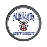 FAIRBANKS University Wall Clock