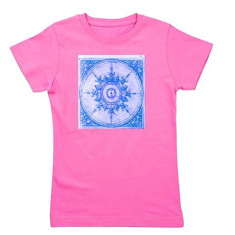 wind rose blue Girl's Tee