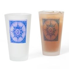 wind rose blue Drinking Glass
