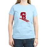 Horace Goes Skiing Women's Light T-Shirt