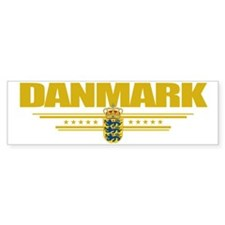 Denmark (Flag 10) pocket Bumper Sticker