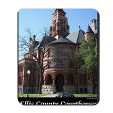 ellis-county-courthouse-poster Mousepad