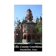 ellis-county-courthouse-poster Decal